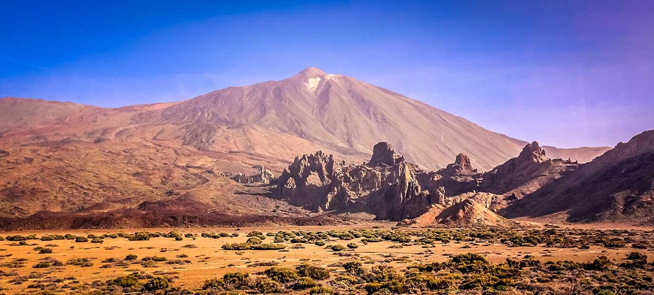 Parc National du Teide à Tenerife aux Canaries