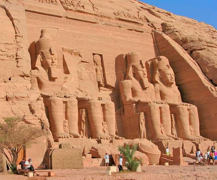 Assouan Abou Simbel en Egypte