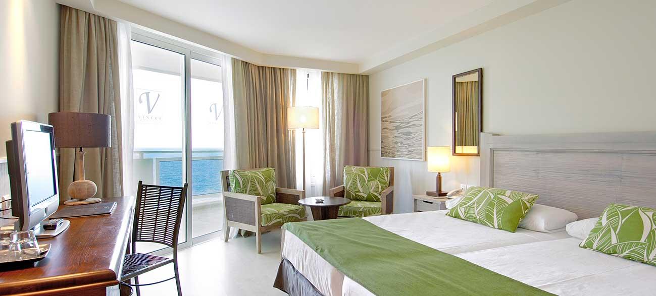 Chambre vue mer du Vincci Tenerife Golf Hôtel 4*