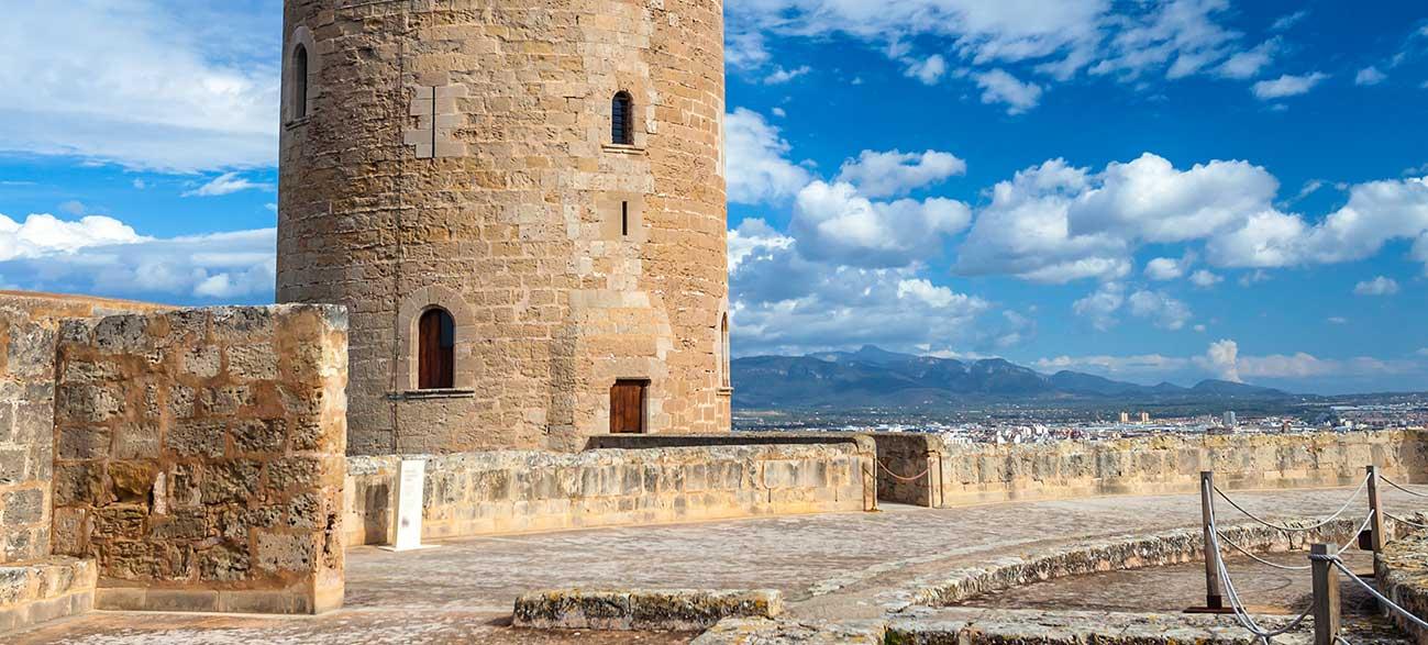 Chateau à Majorque aux Baléares