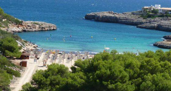 Crique de Carla Marsal à Majorque aux Baléares