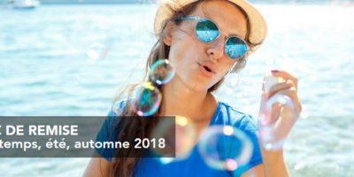 Première minute Printemps, été, automne 2018 Cap'Vacances