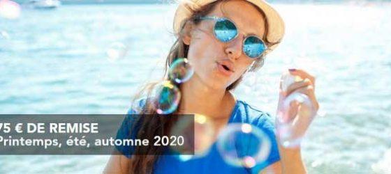 Première minute Printemps, été, automne 2020 Cap'Vacances