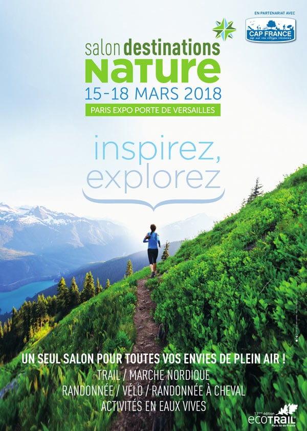 Salon destinations nature 2018 à Paris