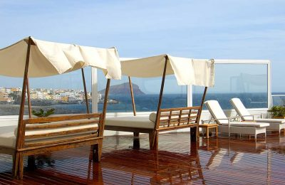 Terrasse du Vincci Tenerife Golf Hôtel 4*