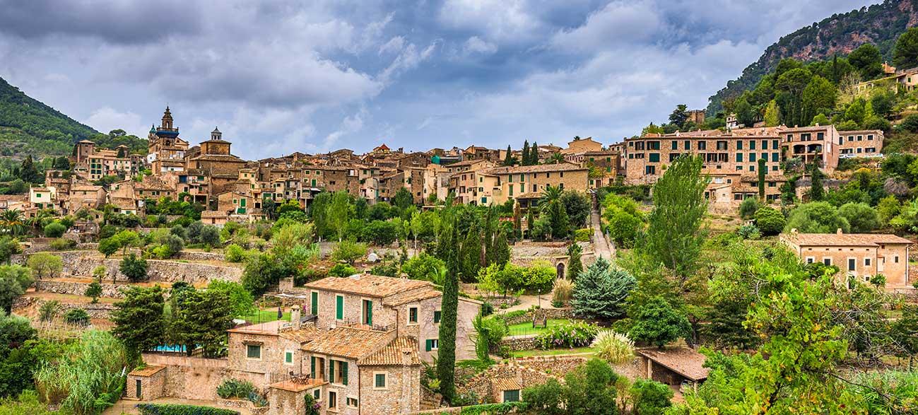 Village à Majorque aux Baléares