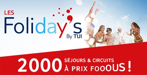 Offre promo les Foliday's