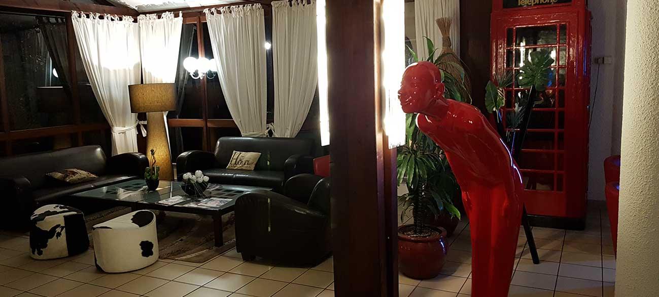 Hall de l'Hôtel Diane à Amnéville en Lorraine