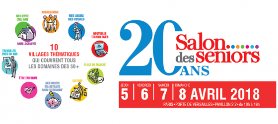 INVITATION GRATUITE AU SALON DES SENIORS 2018 DE PARIS