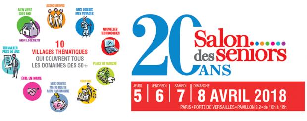 INVITATION GRATUITE AU SALON DES SENIORS 2018 DE PARIS