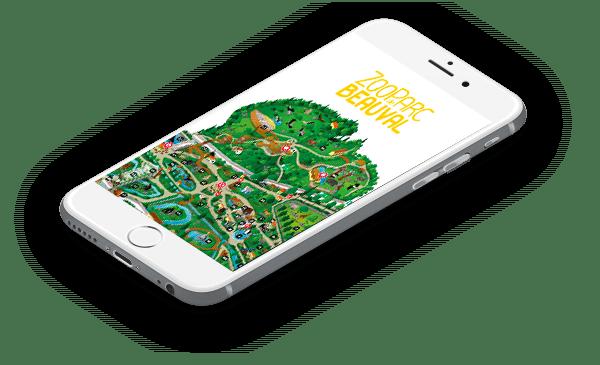 Application de visite du zoo de Beauval