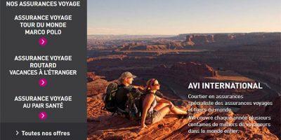 Assurance voyage senior AVI