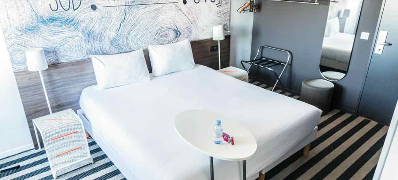 Belle chambre d'hôtel à Canet en Roussillon