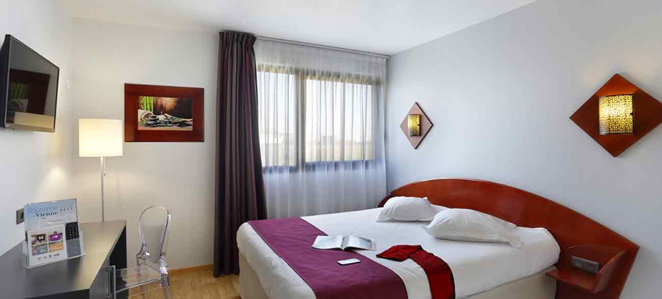 Chambre à l'Hôtel Altéora site du Futuroscope