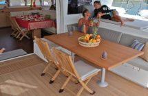 Croisière en Corse : pont du bateau