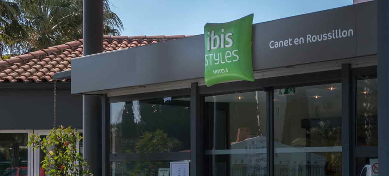 Ibis hôtel à Canet-en-Roussillon