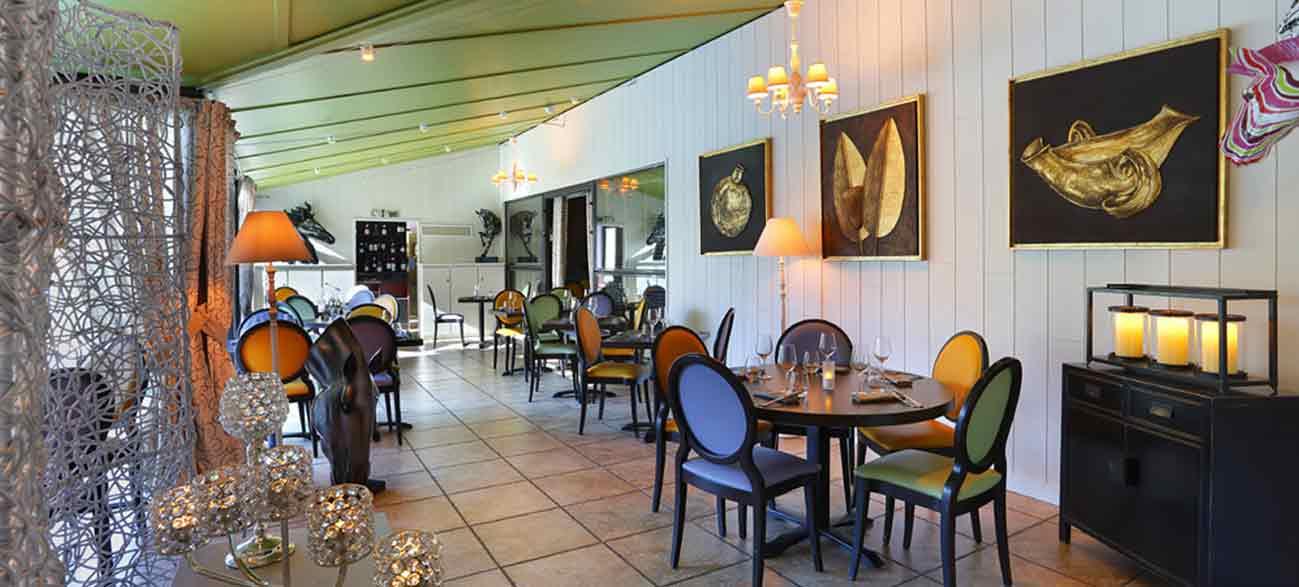 Salle du restaurant la Parenthèse Hôtel Altéora site du Futuroscope