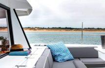 Un carré à l'avant du catamaran pour votre croisière en Croatie