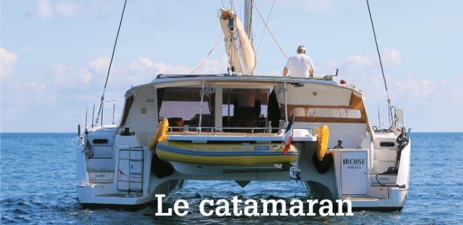 Catamaran Voile et Randonnée