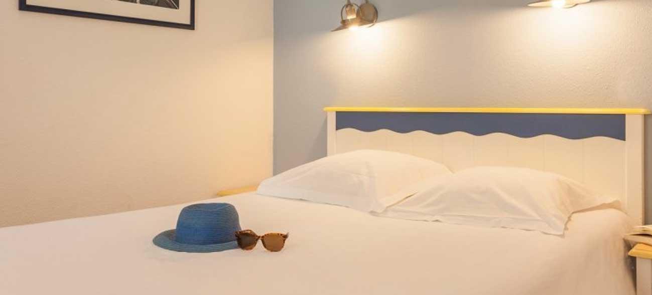 Chambre dans appartement en location de vacances Résidence Cap Morgat