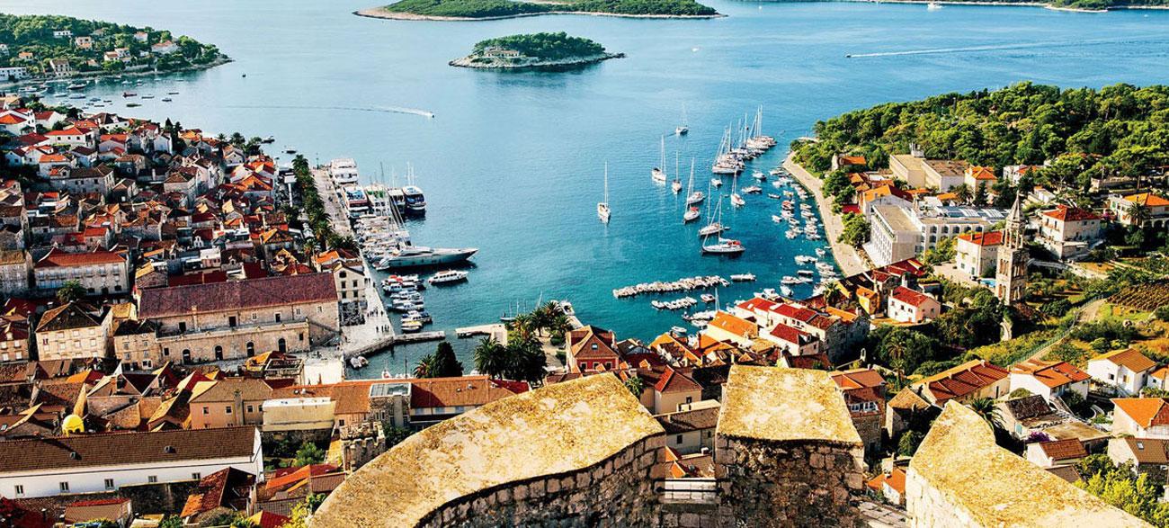 Port maritime lors de votre croisière en Croatie