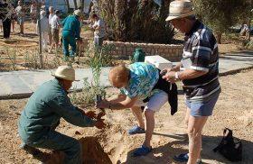 Activité jardinage au long séjour au SANGHO CLUB ZARZIS
