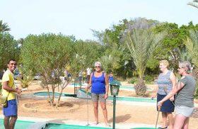 Activité mini golf au long séjour au SANGHO CLUB ZARZIS