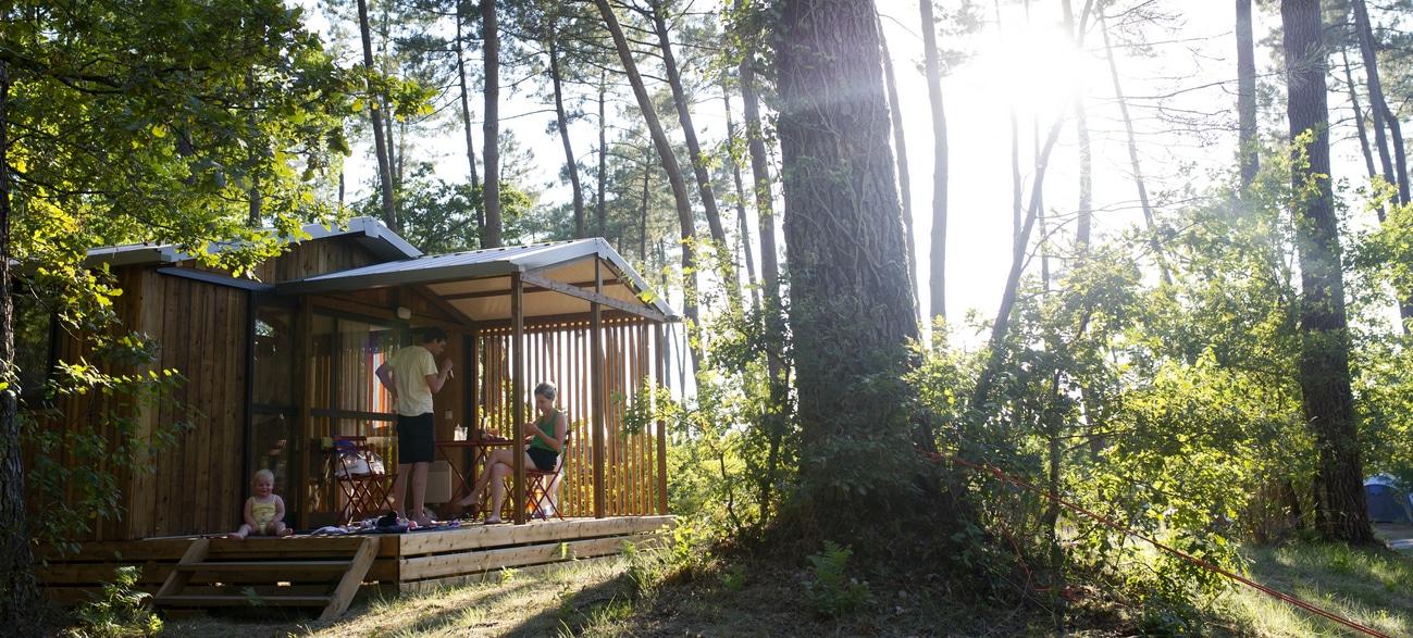 Hébergement évasion au Camping Indigo Landes Sud Saint-Michel Escalus