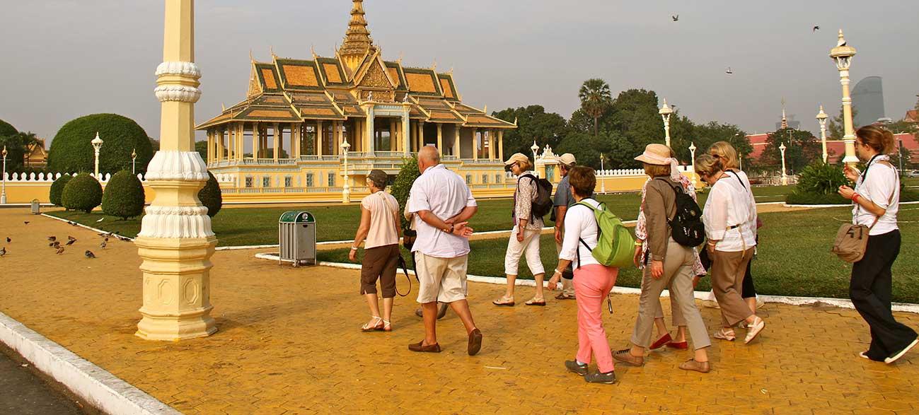 Excursion à Phnom Penh du palais royal durant votre Croisière sur le Mekong Cambodge et Vietnam