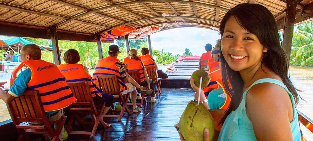 Excursion durant votre Croisière sur le Mekong Cambodge et Vietnam