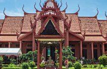 Excursion du musé National Phnom penh durant la Croisière sur le Mekong Cambodge, Vietnam