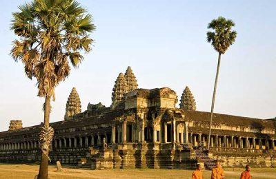 Excursion Temple Angkor durant la Croisière sur le Mekong Cambodge, Vietnam