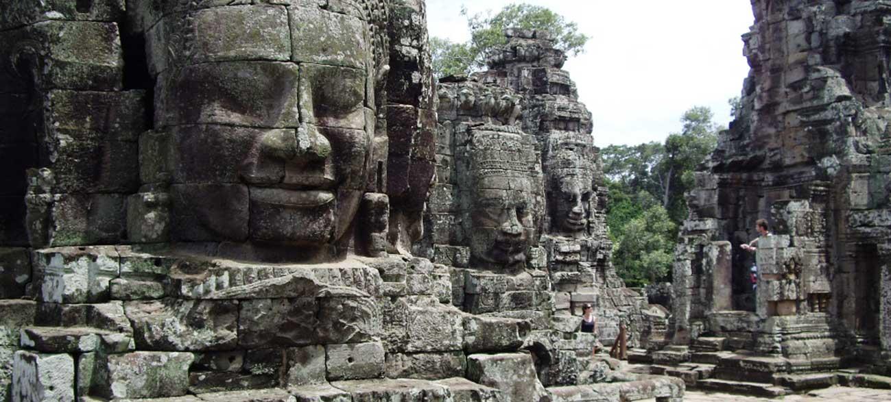 Excursion du temple d'Angkor durant votre Croisière sur le Mekong Cambodge et Vietnam