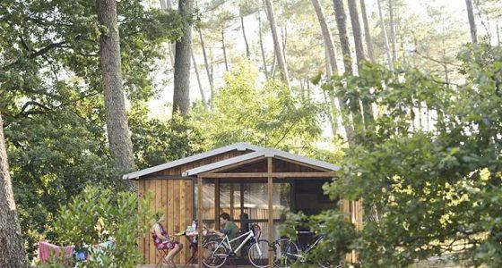 Chalet évasion Camping Indigo Landes Sud Saint-Michel Escalus