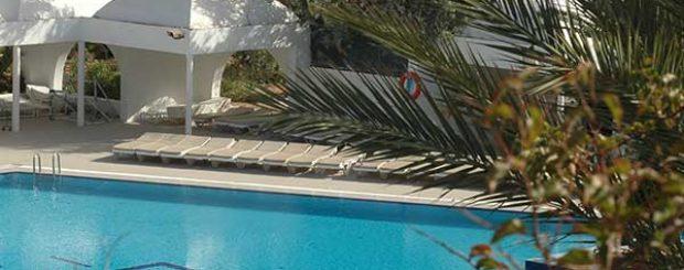 Vue piscine en Long séjour au SANGHO CLUB ZARZIS
