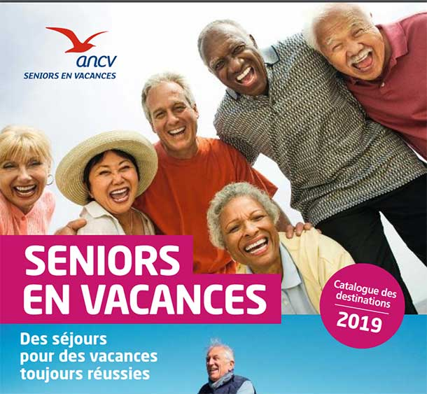 Catalogue 2019 des destinations seniors vacances