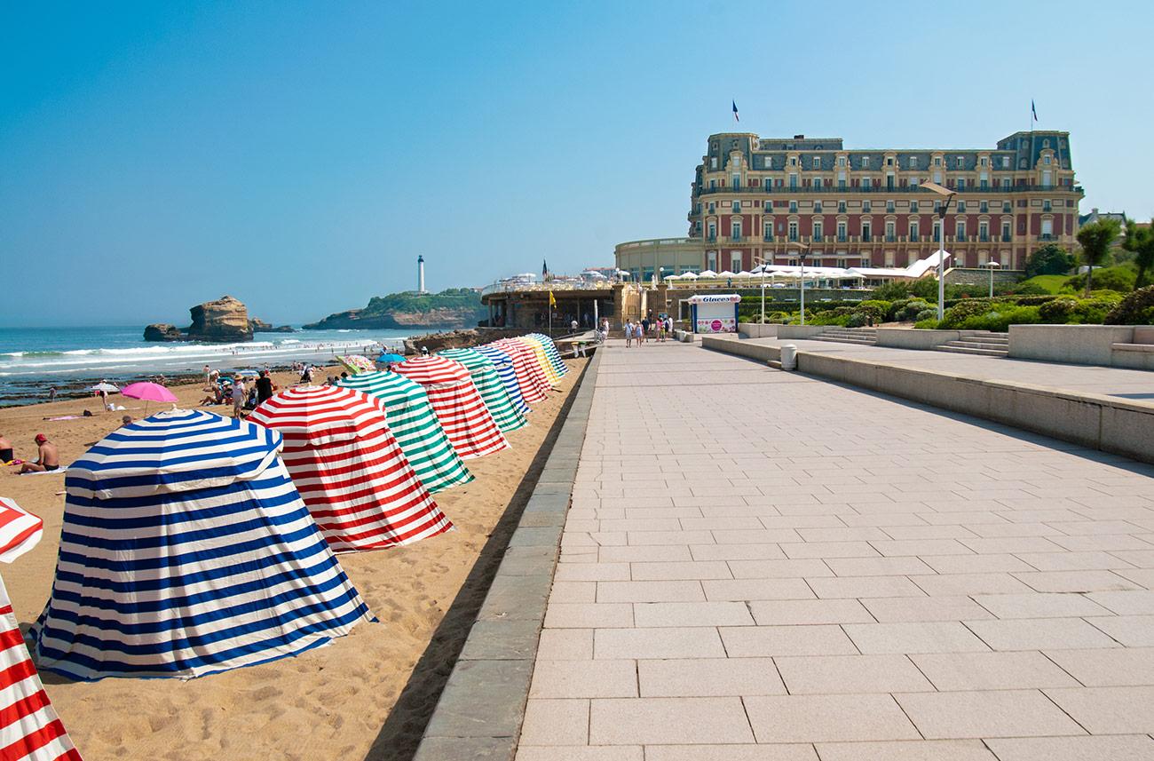 Front de mer de Biarritz