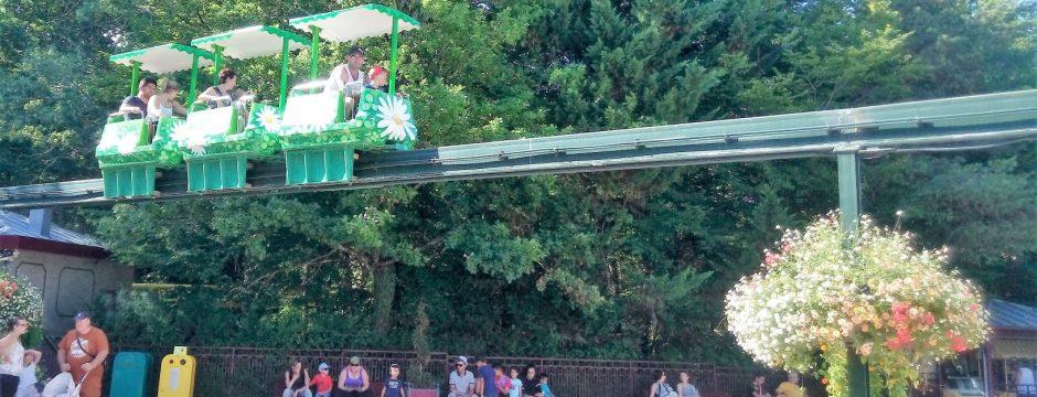 Monorail du parc auvergnat le PAL