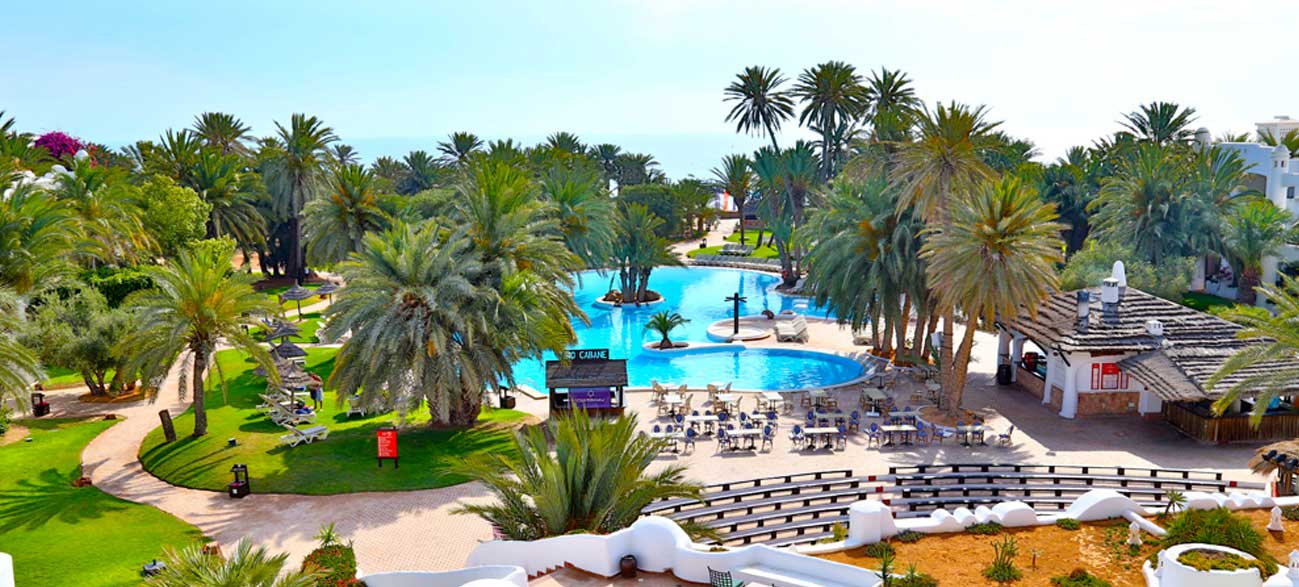 Piscine Odyssée Resort Zarzis Tunisie