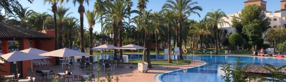 Piscine de l'hôtel Marbella à Malaga