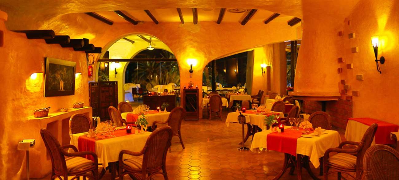 Restaurant La Porta de l'hôtel Odyssée Resort Zarzis Tunisie pour séjour longue durée
