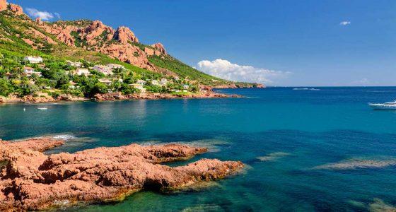 Mer Esterel Côte d'Azur