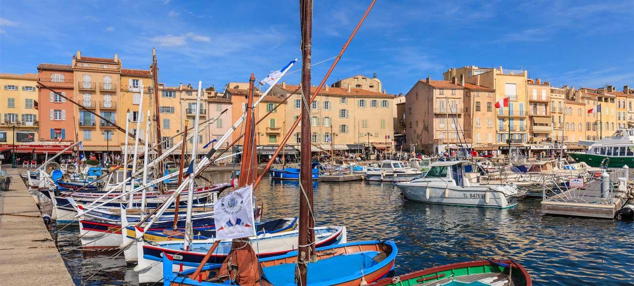 Saint-Tropez port Côte d'Azur