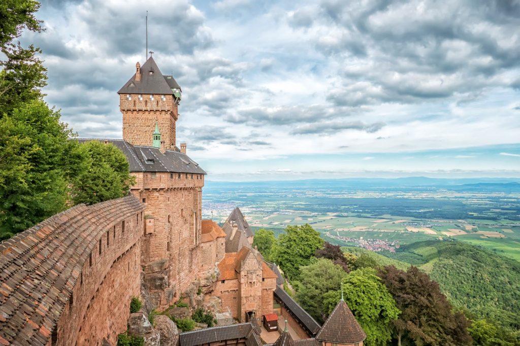 Haut Koenigsbourg en région Alsace
