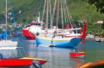 île Béquia dans les îles Grenadines