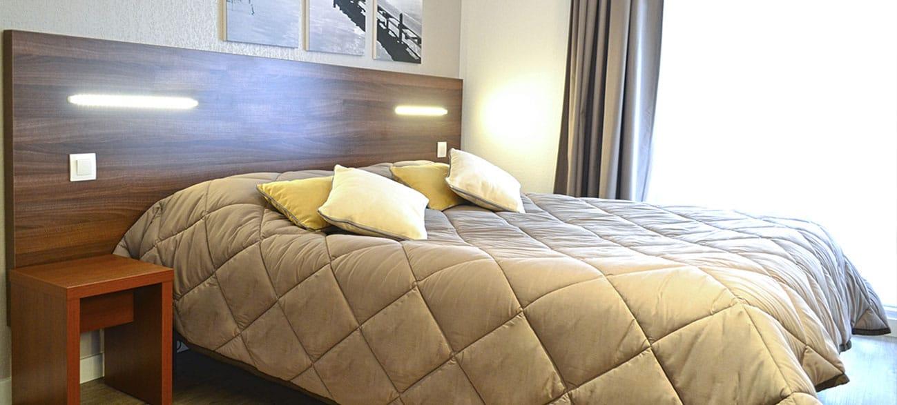 Chambre dans un appartement d'une résidence hôtel à Aix Les Bains
