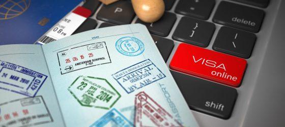 Passeport avec visas pour l'Inde