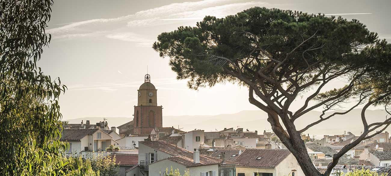 Saint-Tropez église Côte d'Azur
