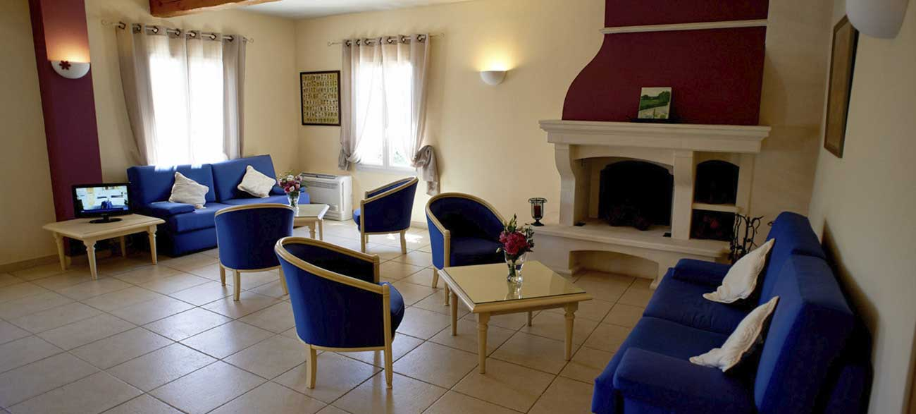 Salon de la résidence de tourisme Grand Avignon