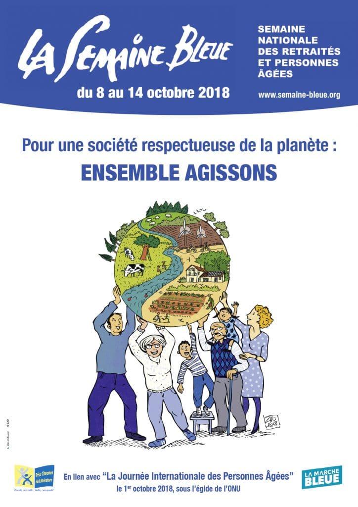 Semaine Bleue 2018 du 8 au 14 octobre